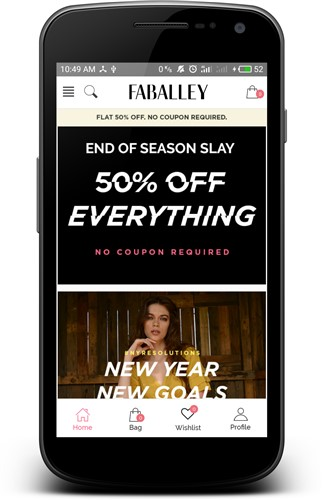 FabAlley Fashion Shopping App-Android